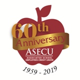 ASECU 60th anniversary logo