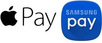 ApplePay and Samsung Pay